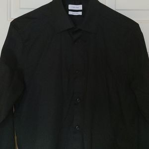 Calvin Klein Black Dress Shirt